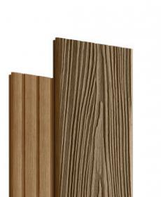 Террасная доска дпк MOGANO (Россия) цвет орех-натур, 3-4 метра