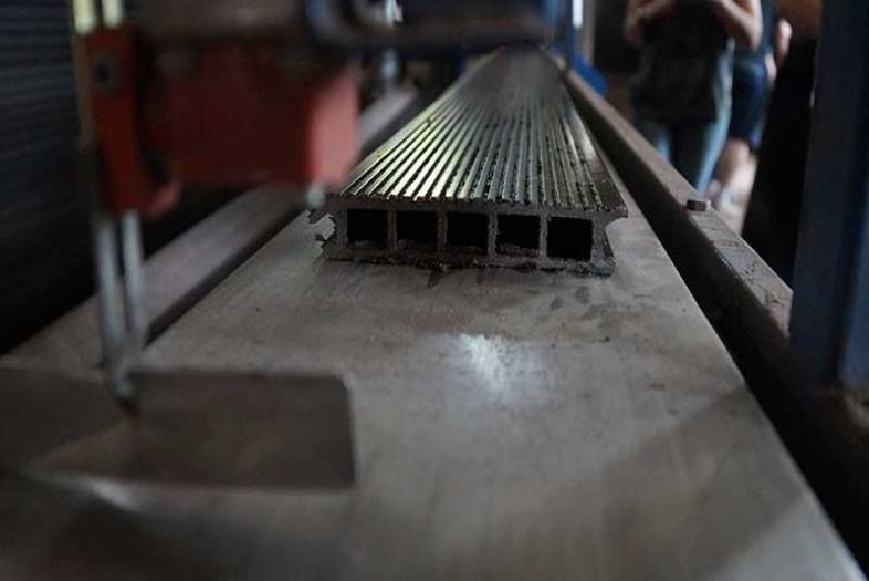 Производство террасной доски